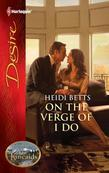 Heidi Betts - On the Verge of I Do: On the Verge of I Do\The Kincaids: Jack and Nikki, Part 4