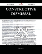 Constructive dismissal 28 Success Secrets - 28 Most Asked Questions On Constructive dismissal - What You Need To Know