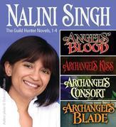 Nalini Singh: Guild Hunters Novels 1-4