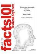 e-Study Guide for: Optimization Methods in Finance by Gerard Cornuejols, ISBN 9780521861700