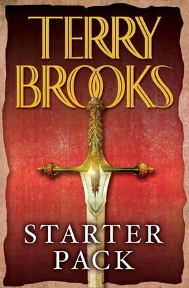 Terry Brooks Starter Pack 4-Book Bundle: The Sword of Shannara, Magic Kingdom for Sale: Sold!, Running with the Demon, Armageddon's Children