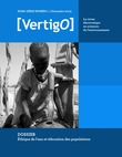 Hors-série 1   2003 - Éthique de l'eau et éducation des populations - VertigO