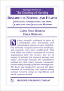 Research in Nursing and Health: Understanding and Using Quantitative and Qualitative Methods, 2nd Edition