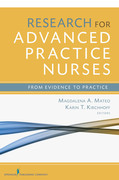 Research for Advanced Practice Nurses: From Evidence to Practice
