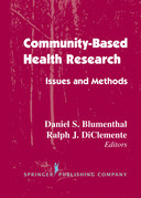 Community- Based Health Research: Issues and Methods