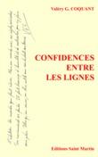 Confidences entre les lignes