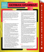 German Grammar (Speedy Language Study Guides)
