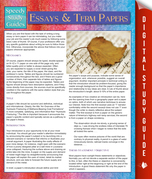 Essays And Term Papers (Speedy Study Guides)