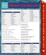 French Vocabulary (Speedy Language Study Guides)