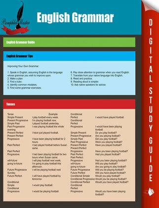 English Grammar: English Grammar Guide