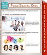 Public Speaking Guide (Speedy Study Guide)