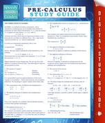 Pre-Calculus Study Guide (Speedy Study Guide)