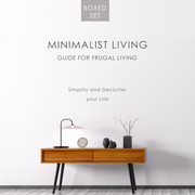 Minimalist Living Guide for Frugal Living (Boxed Set): Simplify and Declutter your Life