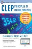 CLEP Principles of Macroeconomics Book + Online