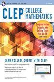 CLEP College Mathematics Book + Online