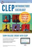 CLEP Introductory Sociology Book + Online