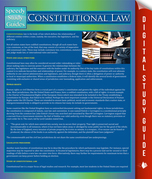 Constitutional Law: Speedy Study Guides