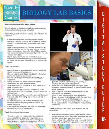 Biology Lab Basics (Speedy Study Guides)