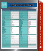 Spanish Vocabulary Speedy Study Guides