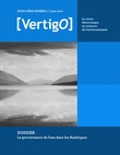 Hors série 7 | 2010 - La gouvernance de l'eau dans les Amériques - VertigO