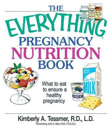 The Everything Pregnancy Nutrition Book