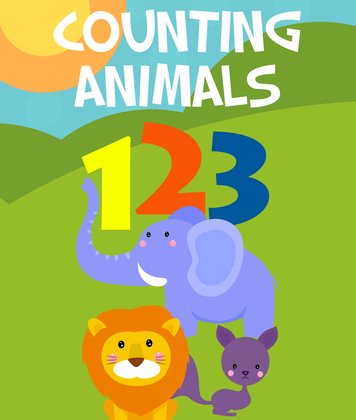 Counting Animals (Learn to Count): Counting Books for Children