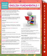 English Fundamentals 1 (Speedy Study Guides)