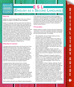 ESL (English as a Second Language): (Speedy Study Guides)