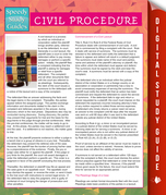 Civil Procedure (Speedy Study Guides)