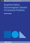 Graphene Optics: Electromagnetic solution of canonical problems