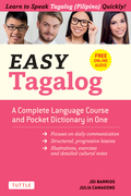 Easy Tagalog: Learn to Speak Tagalog Quickly (Downloadable CD-ROM)