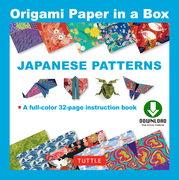 Origami Paper - Japanese Patterns: (Downloadable Material Included)