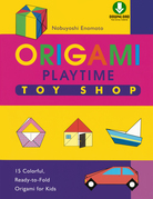 Origami Playtime Book 2 Toy Shop: (Downloadable Material Included)