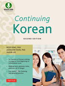 Continuing Korean: Second Edition (Includes Downloadable Audio)