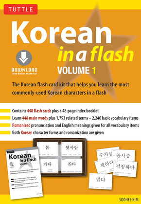 Korean in a Flash Kit Volume 1: (Downloadable Audio Included)