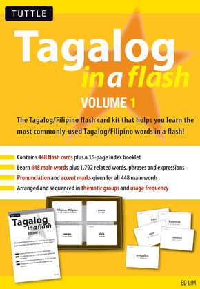 Tagalog in a Flash Volume 1