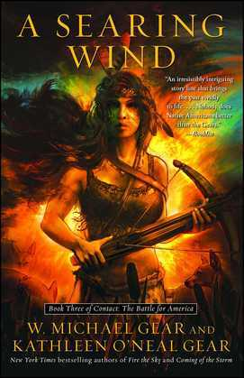 A Searing Wind: Book Three of Contact: The Battle for America