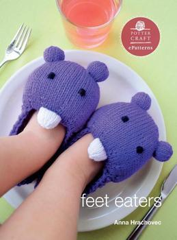 Feet Eaters: E-pattern from Knitting Mochimochi