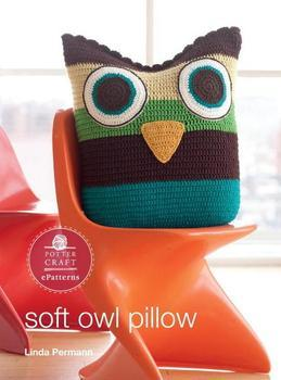 Soft Owl Pillow: E-Pattern from Little Crochet