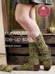 Norwegian Rose Socks: E-Pattern from Toe-Up Socks for Every Body