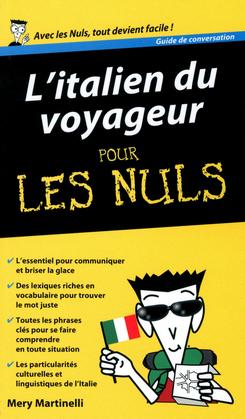 L'Italien du voyageur - Guide de conversation Pour les Nuls