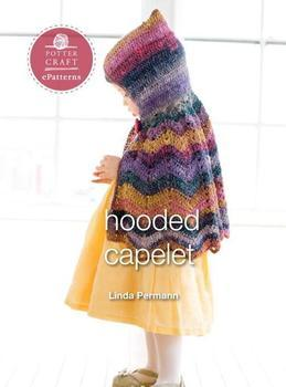 Hooded Capelet: E-pattern from Little Crochet