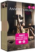 Anwaltshure 1-4 | Erotik Paket Bundle | Alle vier Teile in einem E-Book | Erotischer Roman