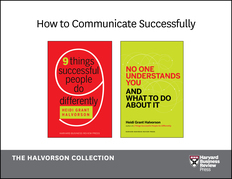 How to Communicate Successfully: The Halvorson Collection (2 Books)