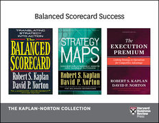 Balanced Scorecard Success: The Kaplan-Norton Collection (4 Books)