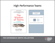 High-Performance Teams: The Katzenbach-Smith Collection (2 Books)