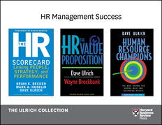 Human Resources Management Success: The Ulrich Collection (3 Books)