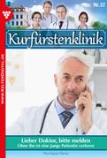 Kurfürstenklinik 37 - Arztroman