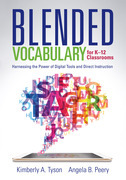 Blended Vocabulary for K--12 Classrooms