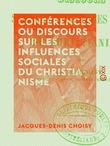 Conférences ou discours sur les influences sociales du christianisme
